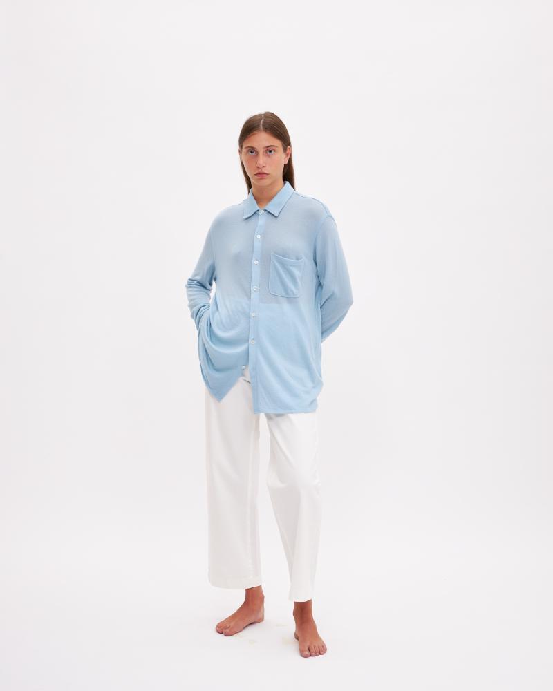 camicia cashmere