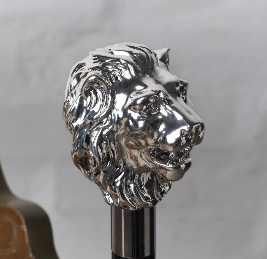 bastone da passeggio unisex leone