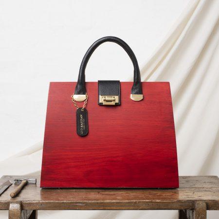 borsa luna frassino rosso