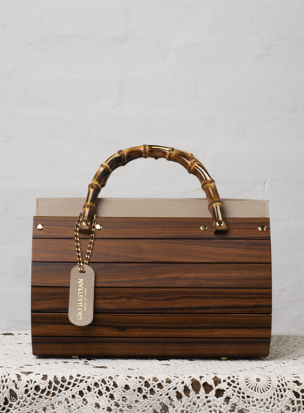 borsa simona legno palissandro