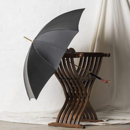 ombrello con manico fenicottero