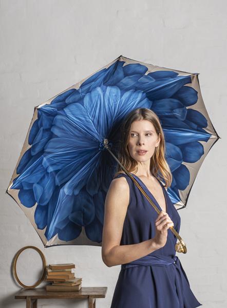 ombrello donna lusso blu