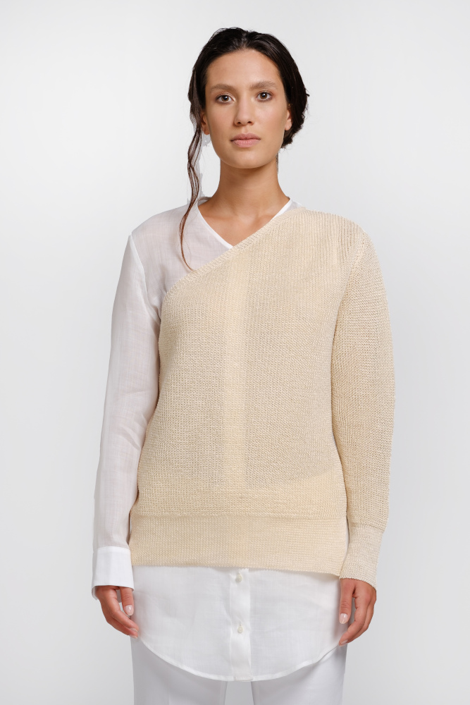 Nettle sweater shirt